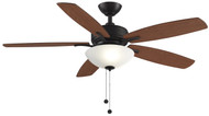 Fanimation FP6285DZ Aire Deluxe Dark Bronze 52-inch Ceiling Fan & Light