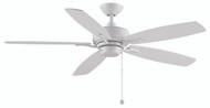 Fanimation FP6284MW Aire Deluxe Matte White 52-inch Ceiling Fan