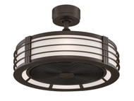 Fanimation FP7964OB Beckwith Oil-Rubbed Bronze 13-inch Ceiling Fan & Light