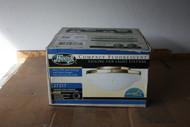 Hunter Low Profile Compact Fluorescent Ceiling Fan Light Fixture Brass 27217