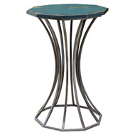Uttermost Vika Navy Blue 18-inch Accent Table by Matthew Williams 25696