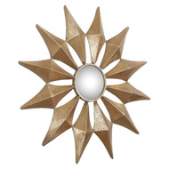 "Uttermost Navia Gold Starburst Mirror 36"" by Grace Feyock 12932"