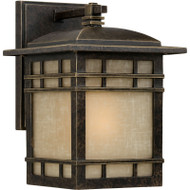 "Ashley Harbour 9.8"" Outdoor Wall Lantern Light Fixture Imperial Bronze LWSC0092B"