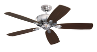 "Emerson 52"" Energy Star Ceiling Fan Prima Brushed Steel CF901BS"
