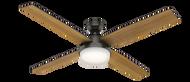Hunter 60 Inch Remote Control Ceiling Fan Dempsey Noble Bronze 59443- OPEN BOX SPECIAL