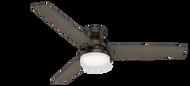 Hunter 60 Inch Remote Control Ceiling Fan Sentinel Premier Bronze 59457- OPEN BOX SPECIAL