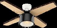 Hunter 52 Inch Remote Control Ceiling Fan Cranbrook Gloss Black 59257