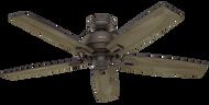Hunter 52 Inch Indoor/Outdoor Ceiling Fan Donegan Onyx Bengal 54167