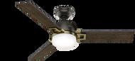 Hunter 48 Inch Remote Control Ceiling Fan Leoni Noble Bronze 59220- OPEN BOX SPECIAL