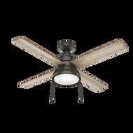 Hunter 52 Inch Ceiling Fan with Light Loki Nobel Bronze 54152