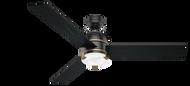 Hunter 60 Inch Remote Control Ceiling Fan Bureau Matte Black 59290