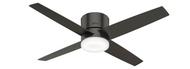Hunter 54 Inch Remote Control Ceiling Fan Advocate Noble Bronze 59372