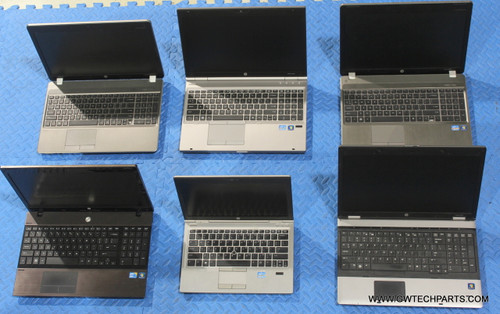 66X HP ELITEBOOK / PROBOOK LAPTOPS WITH MISSING PARTS / COSMETIC ISSUES