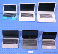 "171X ACER / ASUS CHROMEBOOK LAPTOPS. ""C"" GRADE - MISSING PARTS / FUNCTIONALITY ISSUES"