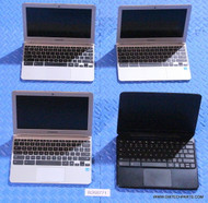 "438X SAMSUNG CHROMEBOOK LAPTOPS. ""B"" GRADE - COSMETIC ISSUES / HEAVY WEAR"