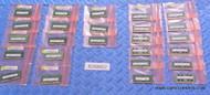 25X PIECES OF 16GB / 8GB / 4GB DDR4 LAPTOP MEMORY. USED WHOLESALE RAM - FRESH PULLS