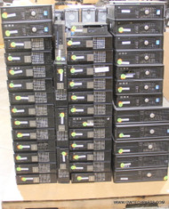 """256X DELL COMPUTERS WITH MISSING PARTS - CORE 2 DUO ERA - """"C"""" GRADE"""