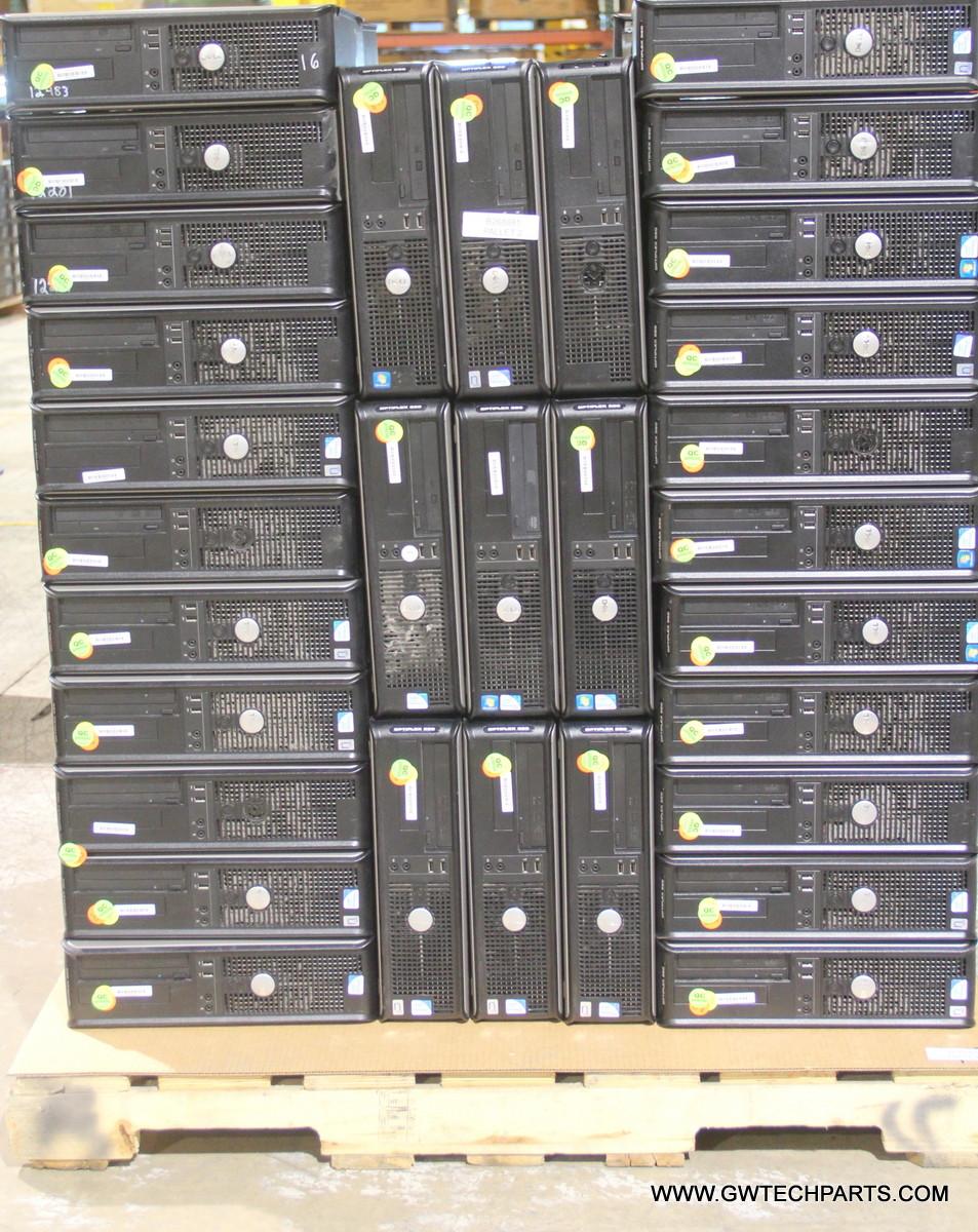 830X DELL OPTIPLEX 380 DESKTOP STYLE COMPUTERS - PENTIUM DUAL-CORE CPU
