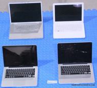 56X APPLE MACBOOK LAPTOPS - MIXED MODELS -CORE 2 DUO- SCREEN / FUNCTIONALITY ISSUES
