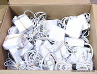 "489X APPLE BRAND LAPTOP AC ADAPTERS. MAGSAFE ""L"" ""T"" ""2"" STYLES. MIXED MODELS"