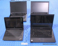 "185X LENOVO MIXED MODELS LAPTOPS - MIXED CPU STYLES - GRADE ""A"""
