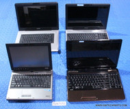 "77X TOSHIBA LAPTOPS - OLDER GENERATION - GRADE ""B"""