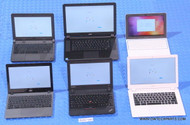 "153X CHROMEBOOKS - MIXED BRANDS / MODELS - ""A"" GRADE"