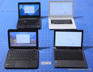 "95X CHROMEBOOKS - MIXED BRANDS / MODELS - ""C"" GRADE"