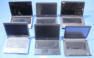 "142X DELL LAPTOPS - MIXED MODELS - NEWER GENERATION- GRADE ""B"" - COSMETIC ISSUES"