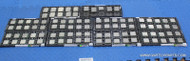 96X AMD PROCESSORS. MIXED LOT - WHOLESALE CPU LOT