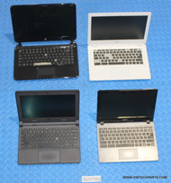"532X CHROMEBOOK LAPTOPS - MIXED BRANDS - GRADE ""C"" - PARTS / FUNCTION ISSUES"
