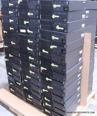 "393X LENOVO THINKCENTRE M SERIES DESKTOP COMPUTERS - MIXED CPU - GRADE ""A"""