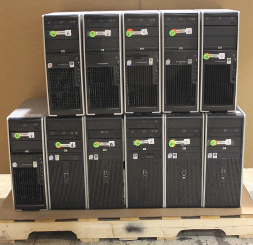 Lot of 11x HP Tower /Workstation computers XW4600 4400 DC7900 - PC