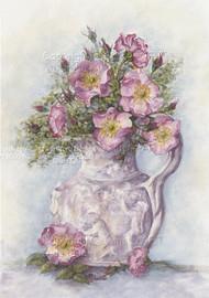 Jug of Wild Roses