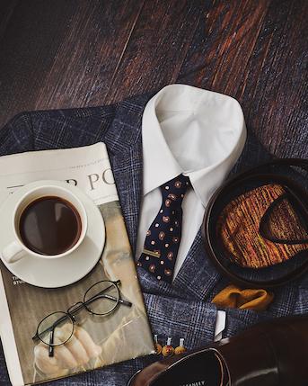Quality suit detailing
