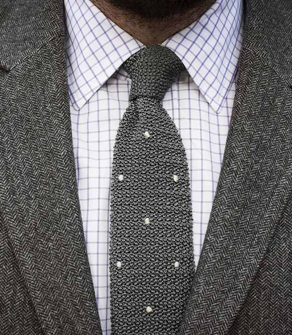 The Perfect Shirt And Tie Combo Part Ii Texture Joe Button