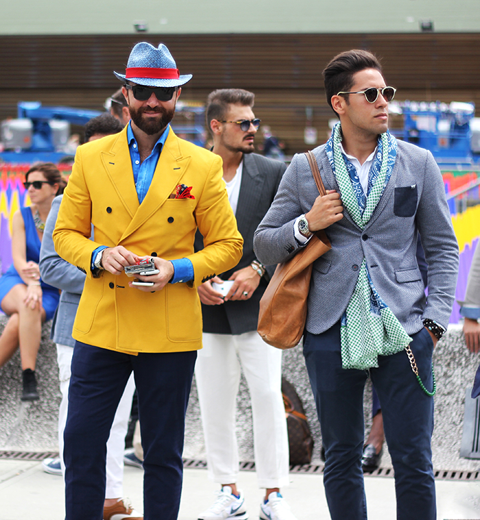 show off your personality with a custom-made suit