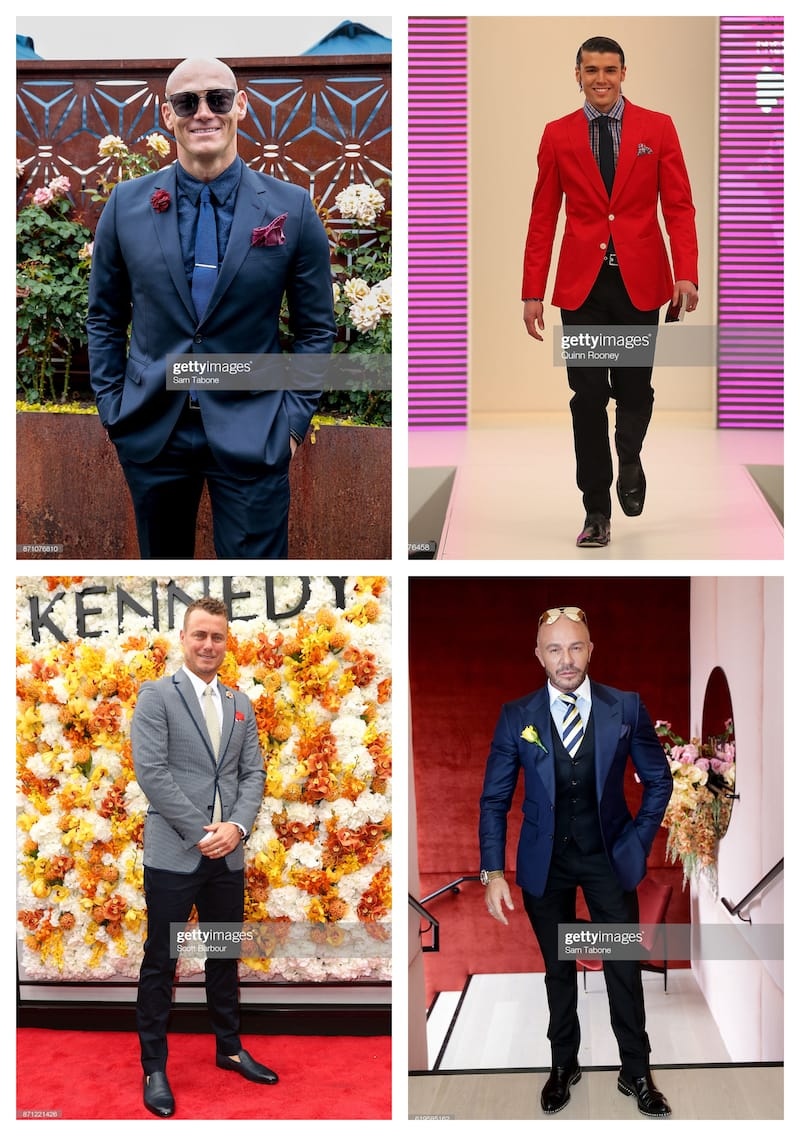 Melbourne Cup men's fashion