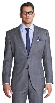 Randall Grey Windowpane Suit