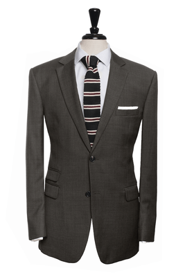 Florrick Dark Grey Pinhead Suit