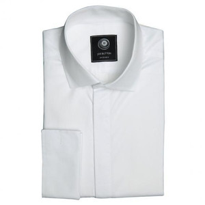THE PREMIUM HIDDEN PLACKET WHITE SHIRT (WOMEN)