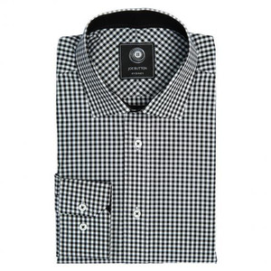 THE BLACK GINGHAM SHIRT (WOMEN)