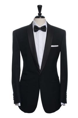 Henrik Black Tuxedo Jacket