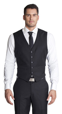 THE OSKAR BLACK VEST