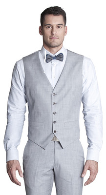 THE MAXIM LIGHT GREY VEST