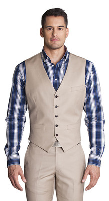 THE EMERSON TAN VEST