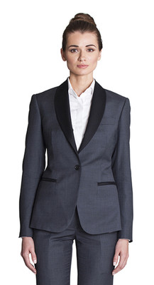 THE GREY BLAZER (WOMEN)
