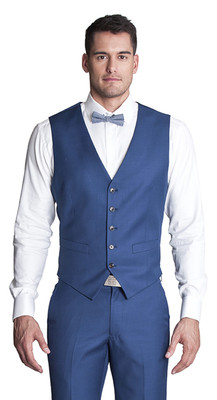 THE BELFORT COBALT BLUE VEST