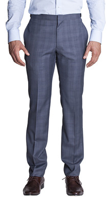 THE ROCHESTER GREY PRINCE OF WALES CHECK PANTS