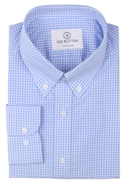 Brooklyn Sky Blue Small Gingham